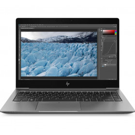 """Laptop HP ZBook 14u G6 6TP81EA - i5-8365U, 14"""" FHD IPS, RAM 16GB, SSD 256GB, Radeon Pro WX3200, Szary, Windows 10 Pro, 3 lata DtD - zdjęcie 6"""