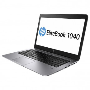 "Laptop HP EliteBook Folio 1040 G1 J8R15EA - i5-4210U, 14"" HD+, RAM 4GB, SSD 128GB, Czarno-srebrny, Windows 7 Professional - zdjęcie 7"