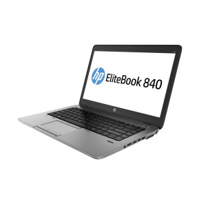 """Laptop HP EliteBook 840 G2 J8R60EA - i7-5500U, 14"""" Full HD, RAM 8GB, SSD 256GB, Czarno-srebrny, Windows 7 Professional - zdjęcie 4"""