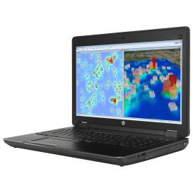 """HP ZBook 15 G2 J8Z49EA - i7-4810MQ, 15,6"""" FHD, RAM 8GB, SSD 256GB + HDD 750GB, Quadro K1100M, Czarno-szary, DVD, Windows 7 Professional - zdjęcie 6"""