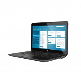 """HP ZBook 14 G2 J8Z76EA - i7-5500U, 14"""" Full HD IPS, RAM 8GB, HDD 1TB, AMD FirePro M4150, Czarno-szary, Windows 7 Professional - zdjęcie 6"""