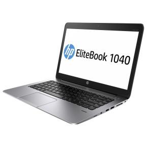 "HP EliteBook Folio 1040 G2 M3N81EA - i7-5600U, 14"" Full HD dotykowy, RAM 8GB, SSD 256GB, Modem WWAN, Czarno-srebrny, Windows 10 Pro - zdjęcie 7"