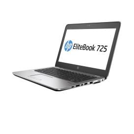 """Laptop HP EliteBook 725 G3 P4T48EA - AMD PRO A10-8700B APU, 12,5"""" HD, RAM 4GB, HDD 500GB, Czarno-srebrny, Windows 7 Professional - zdjęcie 7"""