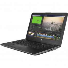 "Laptop HP ZBook 15 G3 T7V55EA - i7-6820HQ, 15,6"" FHD, RAM 8GB, SSD 256GB, NVIDIA Quadro M2000M, Czarno-szary, Windows 7 Professional - zdjęcie 9"