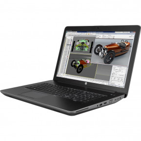 """HP ZBook 17 G3 Y6J66EA - i7-6700HQ, 17,3"""" Full HD IPS, RAM 8GB, SSD 256GB, NVIDIA Quadro M2000M, Czarno-szary, Windows 10 Pro - zdjęcie 6"""