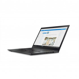 """Laptop Lenovo ThinkPad T470s 20HF004NPB - i7-7500U, 14"""" Full HD IPS, RAM 16GB, SSD 512GB, Modem WWAN, Srebrny, Windows 10 Pro - zdjęcie 6"""