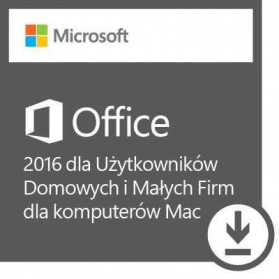 Microsoft Office Mac 2016 Home & Business PL x32, x64 - W6F-00851 - zdjęcie 1