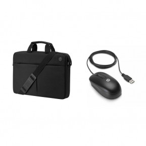 8d9f508eeb2ee HP Prelude Top Load and HP USB Mouse 2MW64AA, Torba na laptopa 15,6 ...