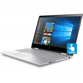 "HP Envy 2PH04EA - i7-8550U, 15,6"" Full HD IPS dotykowy, RAM 16GB, SSD 512GB, Srebrny, Windows 10 Home - zdjęcie 8"