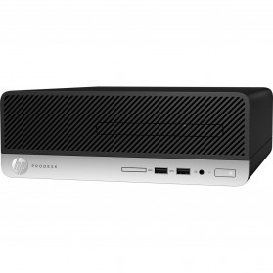 Komputer HP ProDesk 400 G4 1EY30EA - SFF, i3-7100T, RAM 4GB, HDD 500GB, DVD, Windows 10 Pro - zdjęcie 4