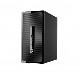 Komputer HP ProDesk 400 G3 X3K56EA - Micro tower, i3-6100, RAM 4GB, HDD 500GB, DVD, Windows 10 Pro - zdjęcie 4