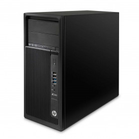 HP Workstation Z240 Y3Y73ES - Mini tower, Xeon E3-1225, RAM 32GB, SSD 512GB, NVIDIA Quadro K620, DVD, Windows 10 Pro - zdjęcie 4