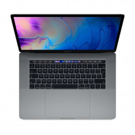 Apple MacBook Pro 15 2018 MR932ZE/A - i7-8750H, 15.4 3K, 16GB RAM, SSD 256GB, Radeon Pro 555X, macOS, Gwiezdna szarość