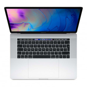 "Apple MacBook Pro 15 2018 MR962ZE, A - i7-8750H, 15,4"" 2880x1800 IPS, RAM 16GB, SSD 256GB, AMD Radeon Pro 555X, Srebrny, macOS - zdjęcie 4"