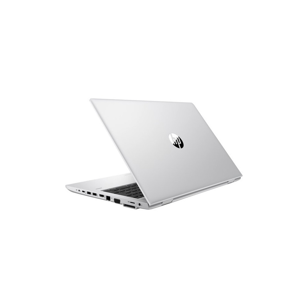 "Laptop HP ProBook 650 G4 3JY27EA - i5-8250U/15,6"" Full HD IPS/RAM 8GB/SSD 256GB/Czarno-srebrny/DVD/Windows 10 Pro - zdjęcie"