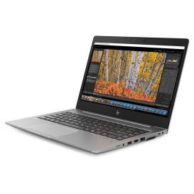 "HP ZBook 14u 2ZC34EA - i7-8550U, 14"" Full HD IPS dotykowy, RAM 16GB, SSD 512GB, AMD Radeon Pro WX3100, Czarno-srebrny, Windows 10 Pro - zdjęcie 7"