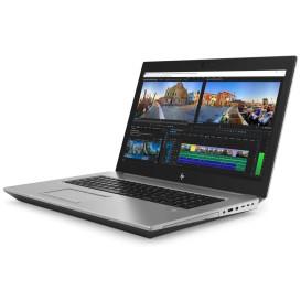 "Laptop HP ZBook 17 G5 2ZC47EA - i7-8850H, 17,3"" FHD IPS, RAM 32GB, SSD 512GB, Quadro P5200, Srebrny, Windows 10 Pro, 3 lata DtD - zdjęcie 7"