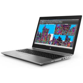 "Laptop HP ZBook 15 G5 4QH14EA - i7-8750H, 15,6"" Full HD IPS, RAM 8GB, SSD 512GB, NVIDIA Quadro P1000, Srebrny, Windows 10 Pro - zdjęcie 7"