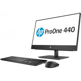 "HP ProOne 440 G4 4NU52EA - i3-8100T, 23,8"" Full HD IPS, RAM 4GB, HDD 1TB, DVD, Windows 10 Pro - zdjęcie 4"