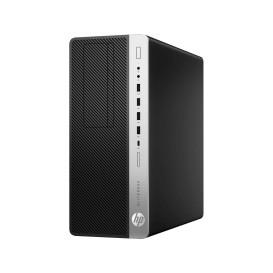 HP EliteDesk 800 G4 4KW68EA - Tower, i7-8700, RAM 8GB, SSD 256GB + HDD 1TB, DVD, Windows 10 Pro - zdjęcie 4