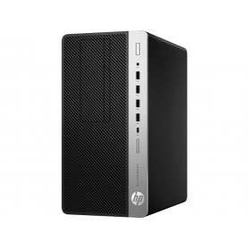 Komputer HP EliteDesk 705 G4 4HN12EA - Micro Tower, Ryzen 5 PRO 2400G , RAM 8GB, SSD 256GB, Radeon RX Vega 11, DVD, Windows 10 Pro - zdjęcie 3