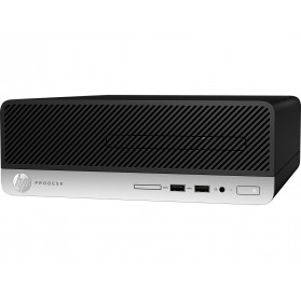 Komputer HP ProDesk 400 G5 4CZ76EA - SFF, i3-8100, RAM 8GB, SSD 256GB, DVD, Windows 10 Pro - zdjęcie 4