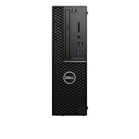 Stacja robocza Dell Precision 3430 1030975939105 - SFF, i7-8700, RAM 16GB, SSD 256GB + HDD 2TB, Quadro P1000, DVD, Windows 10 Pro - zdjęcie 3