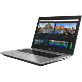 "Laptop HP ZBook 17 G5 4QH34ES - Xeon E-2186M, 17,3"" FHD IPS, RAM 32GB, SSD 1TB, Quadro P5200, Modem WWAN, Czarno-szary, Windows 10 Pro - zdjęcie 6"
