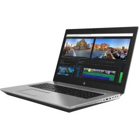 """Laptop HP ZBook 17 G5 4QH41ES - Xeon E-2186M, 17,3"""" 4K IPS, RAM 64GB, SSD 1TB + SSD 1TB, Quadro P5200, Czarno-szary, Windows 10 Pro - zdjęcie 6"""