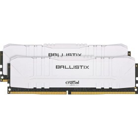BL2K16G26C16U4W Crucial DDR4 Ballistix 32, 2666 (2*16GB) CL16 WHITE - zdjęcie 1