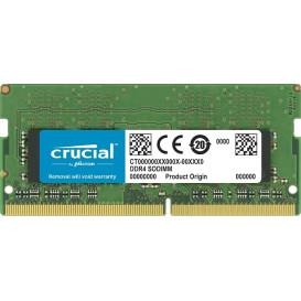 Pamięć RAM 1x8GB SO-DIMM DDR4 Crucial CT8G4SFS824A - 2400 MHz, CL17, Non-ECC, 1,2 V - zdjęcie 1
