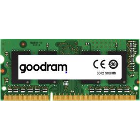 Pamięć RAM 1x8GB SO-DIMM DDR3 GoodRAM GR1600S3V64L11, 8G - 1600 MHz, CL11, Non-ECC, 1,35 V - zdjęcie 1