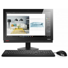 """Lenovo ThinkCentre M910z 10NS001DPB - i7-7700, 23,8"""" Full HD, RAM 4GB, SSD 128GB, DVD, Windows 10 Pro - zdjęcie 7"""