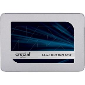 "Dysk SSD 250 GB SATA 2,5"" Crucial MX500 CT250MX500SSD1 - 2,5"", SATA III, 560-510 MBps, TLC, AES 256-bit - zdjęcie 1"