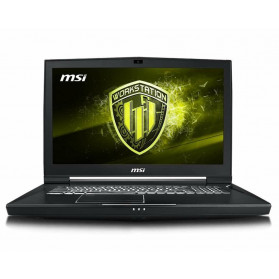 "MSI Workstation WT75 8SK-032PL - i7-8700, 17,3"" 4K, RAM 32GB, SSD 256GB + HDD 1TB, NVIDIA Quadro P3200, Windows 10 Pro - zdjęcie 5"