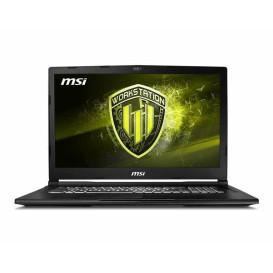 """Laptop MSI Workstation WE73 8SJ-272PL - i7-8750H, 17,3"""" Full HD, RAM 16GB, SSD 128GB + HDD 1TB, NVIDIA Quadro P2000, Windows 10 Pro - zdjęcie 4"""