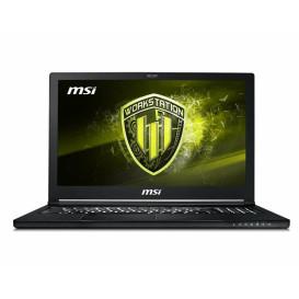 """Laptop MSI Workstation WS63 8SJ-044PL - i7-8750H, 15,6"""" Full HD, RAM 32GB, SSD 128GB + HDD 1TB, NVIDIA Quadro P2000, Windows 10 Pro - zdjęcie 4"""