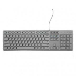 Dell 580-ADHL Multimedia Keyboard-KB216 - UK (QWERTY), Szara