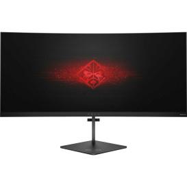 """Monitor HP X3W57AA - 35"""", 3440x1440 (UWQHD), 21:9, zakrzywiony, AMVA, 4 ms - zdjęcie 4"""