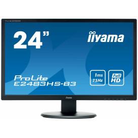 "Monitor iiyama ProLite E2483HS-B3 - 24"", 1920x1080 (Full HD), TN, 1 ms - zdjęcie 4"