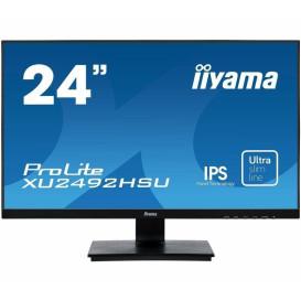 "Monitor iiyama ProLite XU2492HSU-B1 - 23,8"", 1920x1080 (Full HD), IPS, 4 ms - zdjęcie 5"