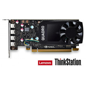 4X60N86661 Karta graficzna LenovoThinkStation Nvidia Quadro P1000 4GB GDDR5 Mini DP
