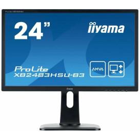"Monitor iiyama ProLite XB2483HSU-B3 - 23,8"", 1920x1080 (Full HD), AMVA, 4 ms, pivot - zdjęcie 7"