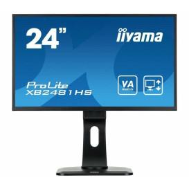 "Monitor iiyama ProLite XB2481HS-B1 - 23,6"", 1920x1080 (Full HD), AMVA+, 6 ms, pivot - zdjęcie 5"