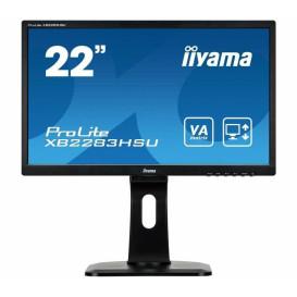 "Monitor iiyama ProLite XB2283HSU-B1DP - 21,5"", 1920x1080 (Full HD), VA, 5 ms, pivot - zdjęcie 4"