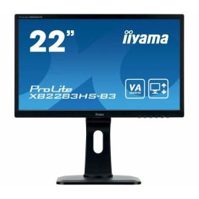 "Monitor iiyama ProLite XB2283HS-B3 - 21,5"", 1920x1080 (Full HD), VA, 4 ms, pivot - zdjęcie 6"