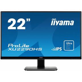 "Monitor iiyama ProLite XU2290HS-B1 - 21,5"", 1920x1080 (Full HD), IPS, 4 ms - zdjęcie 5"