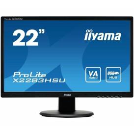 "Monitor iiyama ProLite X2283HSU-B1DP - 21,5"", 1920x1080 (Full HD), VA, 5 ms - zdjęcie 6"