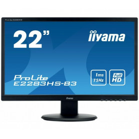 "Monitor iiyama ProLite E2283HS-B3 - 21,5"", 1920x1080 (Full HD), TN, 1 ms - zdjęcie 5"