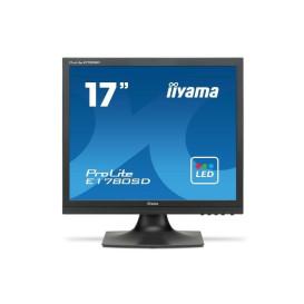 "Monitor iiyama ProLite E1780SD-B1 - 17"", 1280x1024 (SXGA), 5:4, TN, 5 ms - zdjęcie 4"